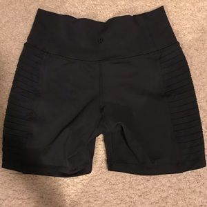 High waist lululemon shorts